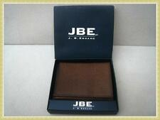 NEW LEATHER WALLET.  J.B.E. Brand. FREE SHIPPING.