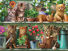 White Mountain Puzzles Spring Kittens EZ Grip - 300 Piece Jigsaw Puzzle