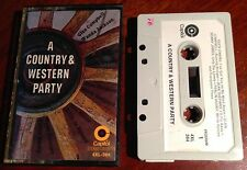 A Country & Western Party by Various Artists Cassette