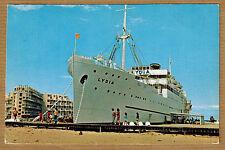 Cpsm / Cpm Port Barcares - le Lydia et la Sardane bateau wn0405