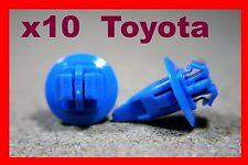 10 Toyota Paraurti Parafango Bump sfregamento Scratch STRISCIA Fascia Pannello Clip Rivetto