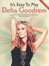Its Easy To Play Delta Goodrem Piano Music Book PVG ANGELS IN THE ROOM THIS LIFE