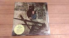 """RARE SEALED Randy Matthews """"Wish We'd All Been Ready"""" LP Private Christian 1977"""