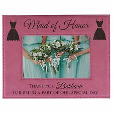 Personalized Wedding Party Bridesmaid 8x10 Frame - Custom Engraved Gift For Her