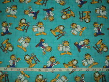 NEW Discontinued Garfield 100% Cotton Quilting Fabric FQ More Available