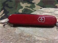 "Victorinox Swiss Army Tourist Multi Tool Knife Red Pocket Function 3 1/4"" 53131"