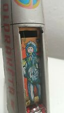 VINTAGE ROCKET SPACE JET TOY FRICTION INTERCOZMOSZ 60s HUNGARY FIRST PRODUCTION