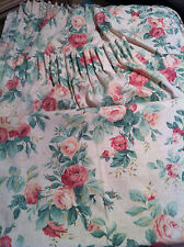 M&S Floral Curtains Ready Made Fully Lined