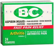 BC Arthritis Formula Pain Reliever Powders 24 Each (Pack of 8)