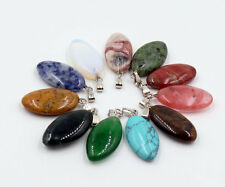 Wholesale Lot 12pcs MIX Natural Stone Anomalous Gemstone Necklace Pendant