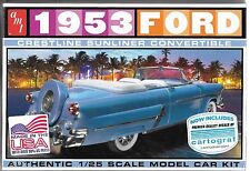 1:25 AMT 1026 - 1953 Ford Convertible - Plastic Model Kit NEW
