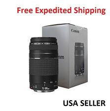 Canon EF 75-300mm f/4-5.6 III Telephoto Zoom Lens for Canon Cameras ORIGINAL BOX