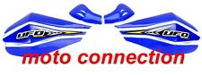 UFO CLAW  HANDGUARDS BLUE WITH FITTING BRACKETS - YAMAHA YZ125 YZ250 YZF250/450