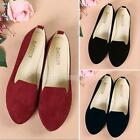 New Women's Casual  Ballet Slip On Flats Loafers Single Shoes Boat Shoes