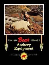 1958 Bear Archery Equipment Catalog  - Reproduction