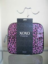 "bagsclothesetc: NWT XOXO 13"" Laptop Case - Purple Leopard FREE SHIPPING"