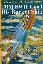 TOM SWIFT & HIS ROCKET SHIP by Victor Appleton II (c) 1954 Grosset & Dunlap HC Y