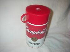 CAMPBELL'S SOUP CAN-TAINER INSULATED CONTAINER WITH CUP KEEPS SOUP WARM UNUSED