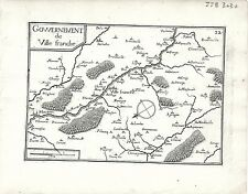 Antique maps, gouvernement de ville franche