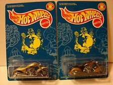 Hot Wheels Lot Of 2 White's World Scorchin' Scooter Both Colors