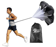 Sports Agility Training Resistance Running Speed Chute Parachute Medium 48""