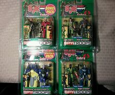 GI JOE v Cobra Spytroops Cross Hair Lady Jane Iron Grenadier Depth Charge +
