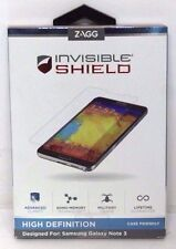 Zagg Invisible Shield HD Samsung Galaxy Note 3 III Screen Protector