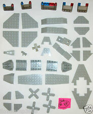 LEGO 2413 6106 6104 30180 3523 Translucent Brown 4176 2479 4732 4854 Old Grey ?