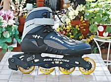 ABEC3 ROCES Roller Derby Inline Skates Roller Blade Dual Traction Mens Sz 11