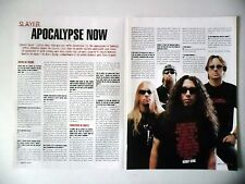 COUPURE DE PRESSE-CLIPPING :  SLAYER [2pages] 12/2003 Kerry King,Soundtrack...
