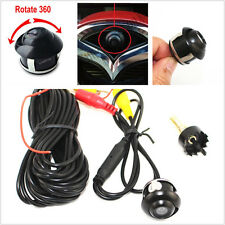Car Parts Mirrors Front/Side/Rear View Reverse 360 degree rotat Vision camera