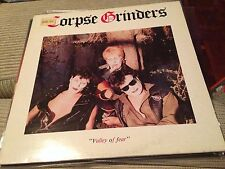 "CORPSE GRINDERS - VALLEY OF FEAR 12"" LP NEW ROSE - U.S. GARAGE ROCK PUNK ROCK"