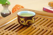 Top Grade Red Golden Dragon Porcelain Gongfu Teacup 50ml 1.68fl. oz