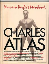 CHARLES ATLAS Yours In Perfect Manhood Bodybuilding Muscle Book Softcover 1982