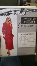 The Sewing Workshop Collection Pattern Yin & Yang Dress