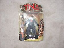 TNA MOC Marvel Sting Figure, Elite, Defining Moments, Basic, WWE, WCW, WWF