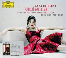 ARIAS & DUETS FROM VERDI'S LA TRAVIATA: NETREBKO - VILLAZON - HAMPSON / CD