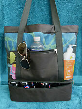Fantastic X-Large Beach Bag/Tote With Cooler Compartment -only 10 left