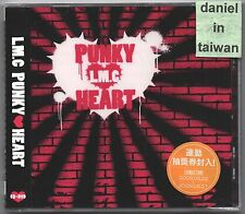 LM.C: Punky Heart (2009) CD & DVD TAIWAN SEALED