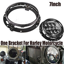 1X 7inch LED Headlight Round Ring Mounting Bracket For Jeep Harley Motorcycle