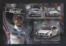 Guernsey 2008 Andy Priaulx/Car Racing ss--Attractive Sports Topical (971) MNH