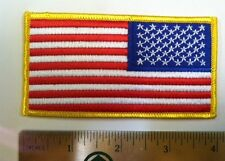 USA AMERICAN FLAG TACTICAL US ARMY MORALE MILITARY BADGE REVERSE PATCH