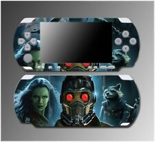 Guardians of the Galaxy Avengers Movie Video Game Skin Sony PSP Slim 3000