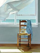 Karen Hollingsworth: Depp Breathing Fertig-Bild 30x40 Meer Fenster Ausblick