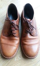 RIEKER size 9UK mens tan leather shoes