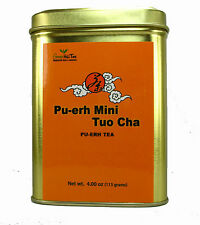 puerh tea pu-erh tea natural tea ball  mini tuo cha 4 OZ in Tea Tin