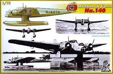Unicraft Models 1/72 BLOHM und VOSS Ha-140 German Floatplane