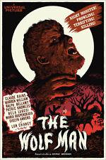 Francesco Francavilla – The Wolfman Wolf Man Mondo Poster Print