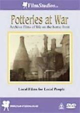 Potteries At War Rare DVD 2006 Wartime Films Staffordshire Film Archive War New