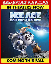 ICE AGE: COLLISION COURSE-ICE AGE: COLLISION COURSE (W/DVD) (WBR) (DHD)  TD NEW